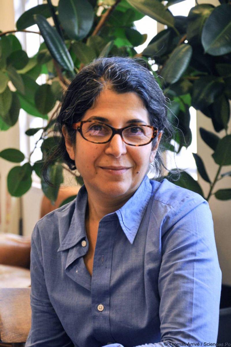 L'universitaire franco-iranienne Fariba Adelkhah, arrêtée et incarcérée en Iran le 15 juillet 2019, sur une photo prise en 2012. Photo AFP / SCIENCES PO / THOMAS ARRIVE