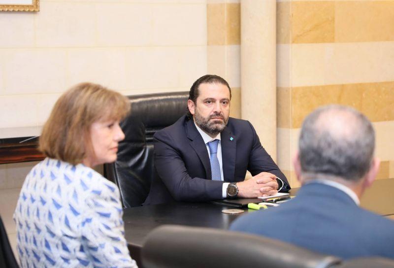 Le Premier ministre Saad Hariri lors d'une réunion au Grand sérail le 17 juillet 2019. Photo Dalati et Nohra