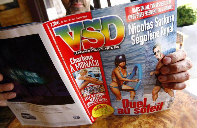 Le magazine français «VSD» a été placé le 5 août en redressement judiciaire. Fred Dufour/AFP