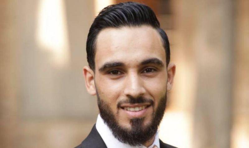 Le Libanais Hussein Fcheikh. Photo tirée de la page Facebook de Hussein Fachikh