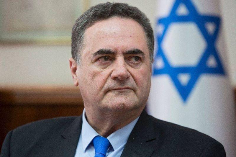Le ministre israélien des Affaires étrangères Israel Katz. AFP Photo/Sebastian Scheiner