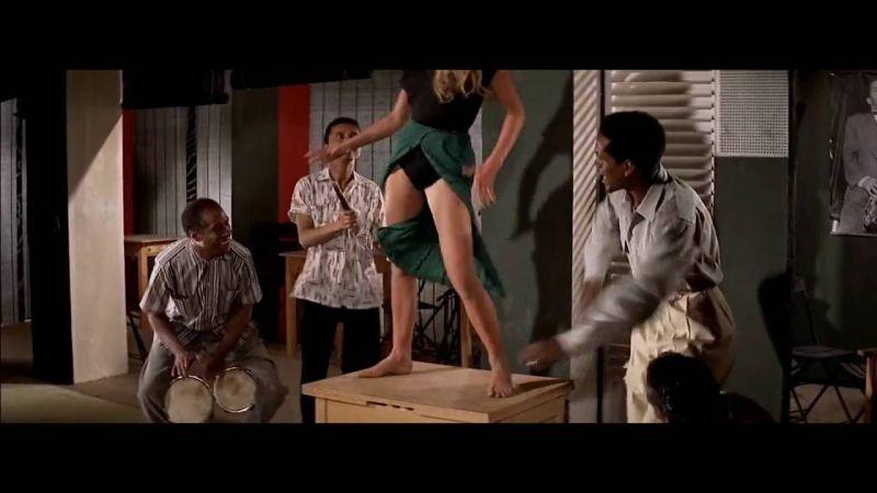 Brigitte Bardot dans une scène culte du film «Et Dieu créa la femme».