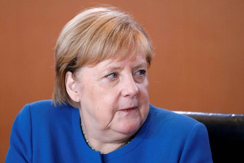 La chancelière allemande, Angela Merkel. Photo REUTERS/Michele Tantussi