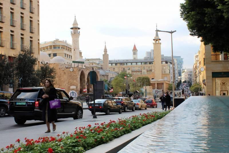 Le centre-ville de Beyrouth. Jamal Saïdi/Reuters