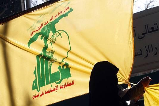 Un drapeau du Hezbollah. Photo d'illustration AFP/BEHROUZ MEHRI
