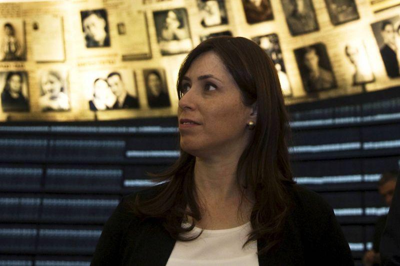 La ministre israélienne adjointe des Affaires étrangères, Tzipi Hotovely, au musée de l'Holocauste à Jérusalem, le 30 juin 2015. Photo d'archives REUTERS/Ronen Zvulun