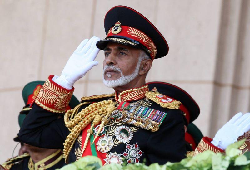 Le sultan Qabous le 29 novembre 2010, à Mascate.   AFP / MOHAMMED MAHJOUB