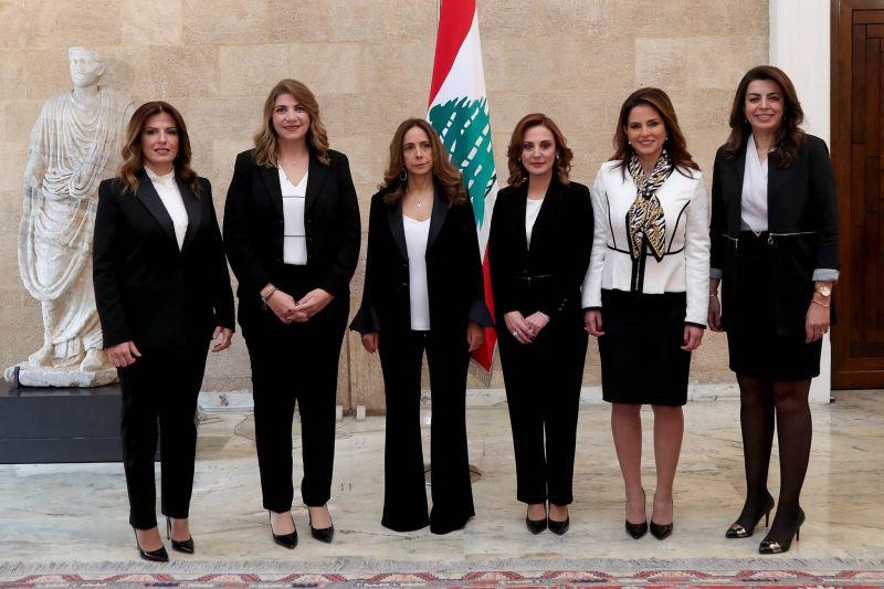 The six women in the new government.  Dalati & Nohra
